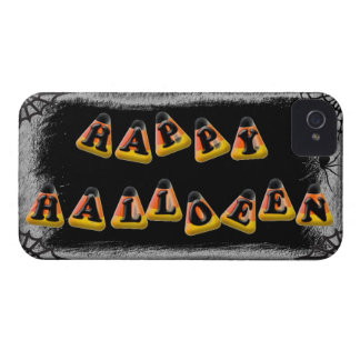 Candy Corn Happy Halloween iPhone 4 Covers