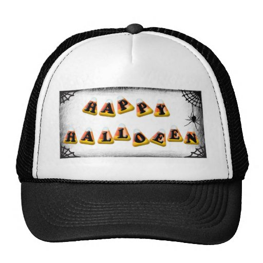 Candy Corn Happy Halloween Hats