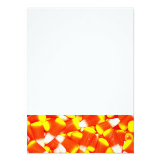 Candy Corn 5.5x7.5 Paper Invitation Card