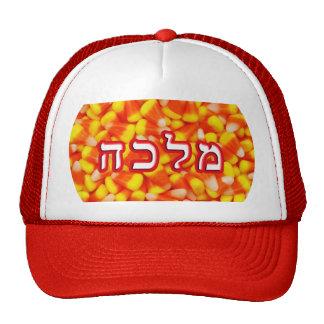 Candy Corn Malka Cap