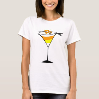Candy Corn Martini Tee shirt