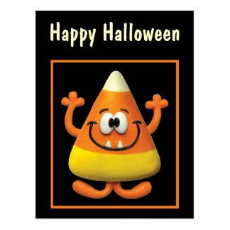 Candy Corn Monster Postcard