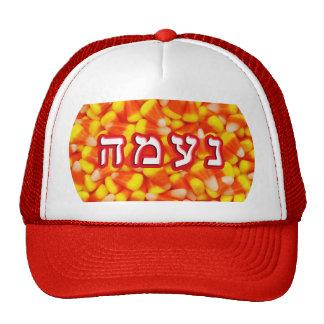Candy Corn Naama Cap