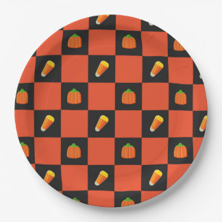 Candy Corn Party Plates