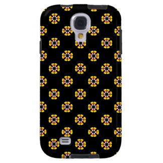 Candy Corn Pattern Galaxy S4 Case