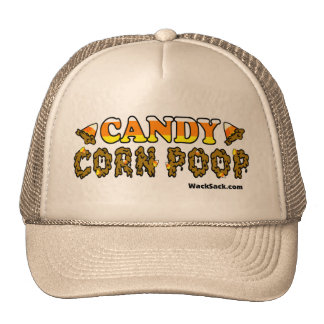 Candy Corn Poop Hat