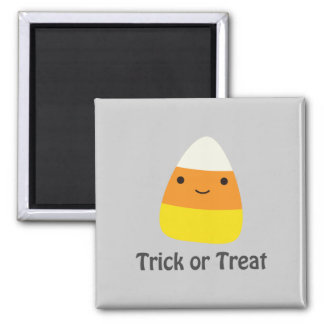 Candy corn - Trick or treat Square Magnet