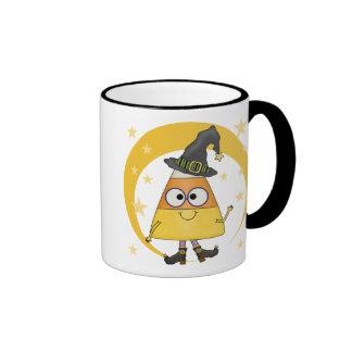 Candy Corn Witch Halloween Coffee Mug