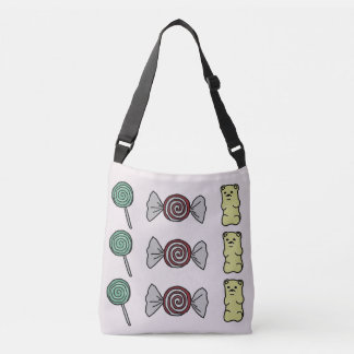 Candy Cross Body Tote Bag