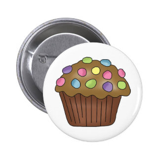 Candy Cupcakes 6 Cm Round Badge