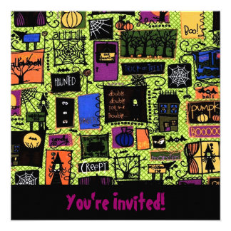 Candy Dreams Invitations RSVP