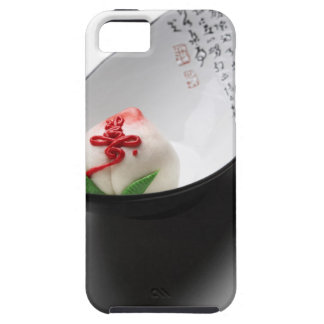 Candy flower bud in bowl iPhone 5 case