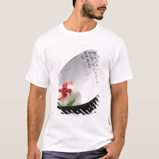 Candy flower bud in bowl T-Shirt