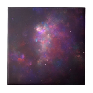 Candy Galaxy Fractal Tile
