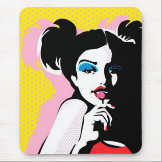 Candy Girl mousepad