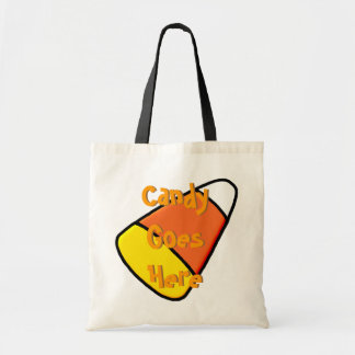 """""""Candy Goes Here"""" Bag"""