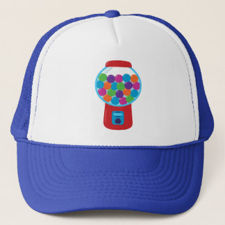Candy Gumball Machine Trucker Hat