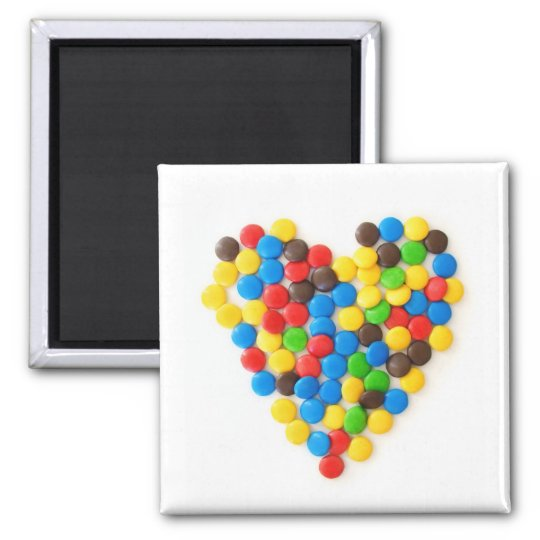 Candy Heart magnet