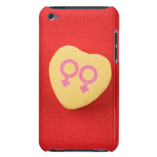 Candy heart with female symbols iPod Case-Mate case