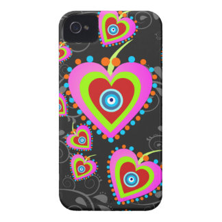 Candy Hearts Blackberry 9700/9780 Case iPhone 4 Covers