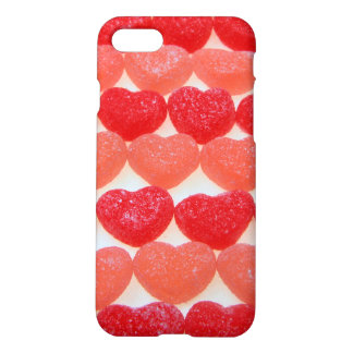 Candy Hearts In A Row iPhone 7 Case