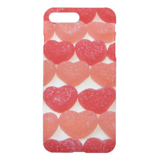 Candy Hearts In A Row iPhone 8 Plus/7 Plus Case