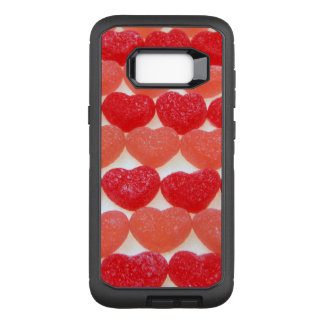 Candy Hearts In A Row OtterBox Defender Samsung Galaxy S8+ Case