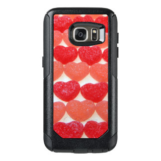Candy Hearts In A Row OtterBox Samsung Galaxy S7 Case