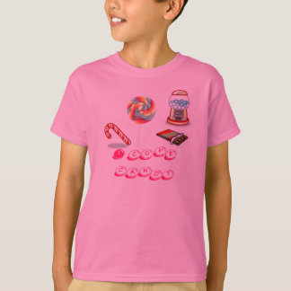 candy, I love candy T-Shirt