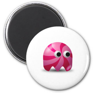 Candy Icon 6 Cm Round Magnet
