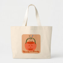 Candy is Dandy Large Tote Bag