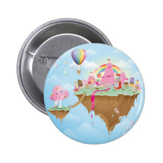 Candy Island 6 Cm Round Badge