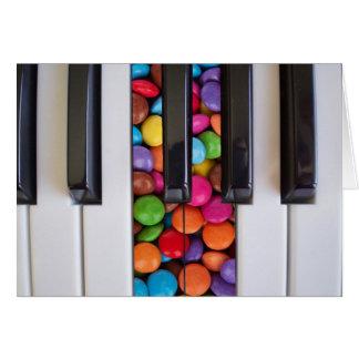 Candy Keys Card