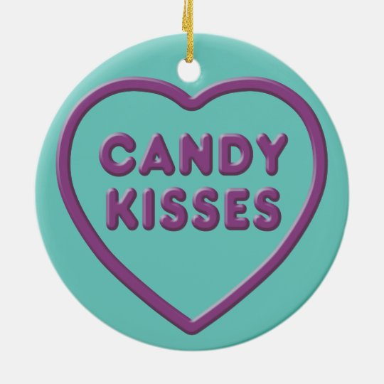 Candy Kisses Christmas Ornament