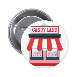 Candy Land 6 Cm Round Badge