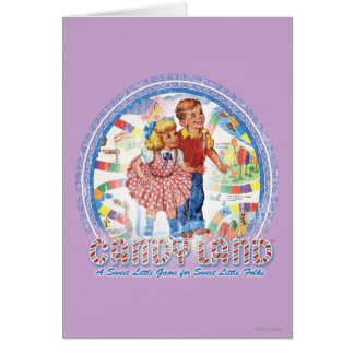 Candy Land - A Sweet Little Game Card