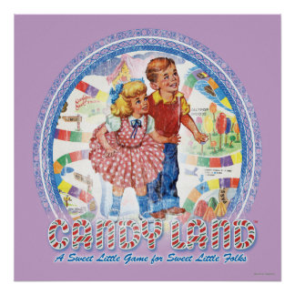 Candy Land - A Sweet Little Game Poster