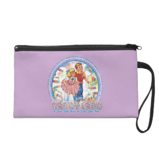 Candy Land - A Sweet Little Game Wristlet