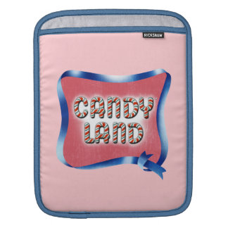 Candy Land Aged Logo iPad Sleeve
