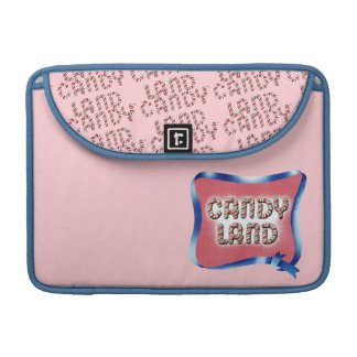 Candy Land Aged Logo Sleeve For MacBooks