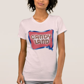Candy Land Aged Logo T-Shirt
