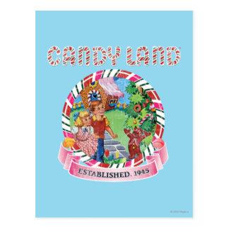 Candy Land Established 1945 Postcard