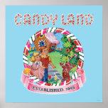 Candy Land Established 1945 Poster