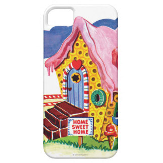 Candy Land Ginger Bread House iPhone 5 Case