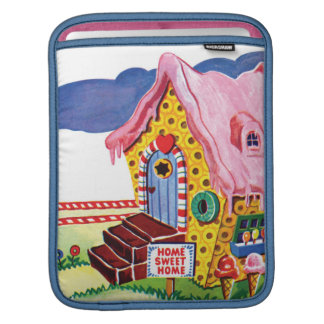 Candy Land Ginger Bread House Sleeve For iPads