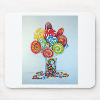 Candy land mouse mat
