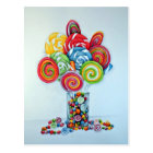 Candy land postcard