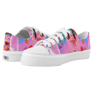 Candy Land Sweets Candy Cupcakes Chocolate Sugar Low Tops