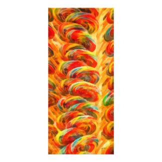 Candy - Lollipops Full Color Rack Card