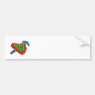 Candy Love Bumper Sticker